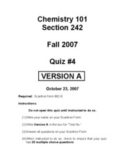 Chem101_Quiz4A_242_ShortKEY