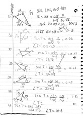 math classnote: Sine, Cosine, and Tangent part two
