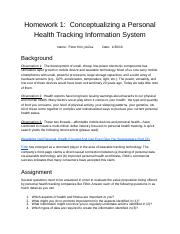 Homework 1_  Conceptualizing a Personal Health Tracking Information System.docx