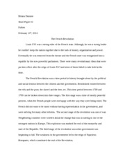 Essay Topics For High School English  Pages Short Essay  French Rev Pollution Essay In English also Business Etiquette Essay French Revolution Study Resources Good Persuasive Essay Topics For High School