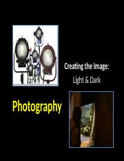 Week 3 - 1  Photography - Creating the image - Light and Dark & Lens Filter Stock Digital Effects -S