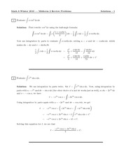MATH 8 Spring 2010 Practice Midterm Exam Solutions