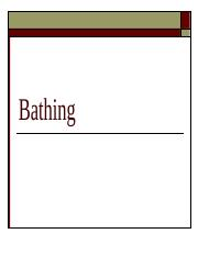 Bathing.ppt