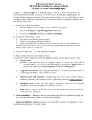 Chapter 5 Lecture Outline (1)