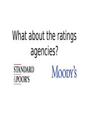 What about the ratings agencies.pptx