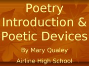 1Poetic Devices