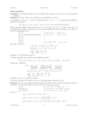 MATH 274 Subset Problems Notes