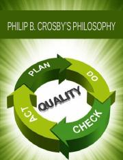 PHILIP B. CROSBY'S PHILOSOPHY.pptx