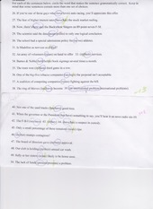 Midterm Grammer (Speech) Correct Answers in Green