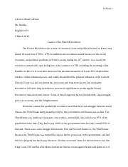 french revolution research paper english 10 H.docx