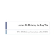 Lecture+13+Debating+the+Iraq+War