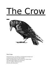The Crow poem