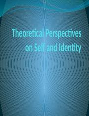 Theories of self