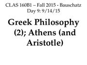 160B1_Day9_Philosophy2_Athens_Aristotle_EDIT.ppt
