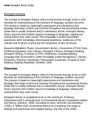 Emergent Literacy Research Paper Starter - eNotes.pdf
