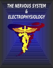 06. Electrophysiology and Nervous System