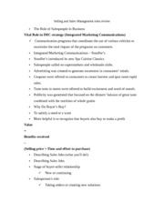 Selling and Sales Management roles review