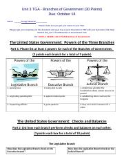 Satamian, S 1458778_Unit 3 TGA Branches of Government.docx