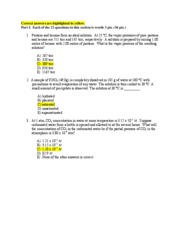 Second practice exam for Test 1 with answers