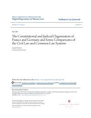 The Constitutional and Judicial Organization of France and German.pdf