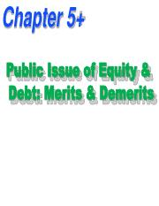 6. 2 Public Issue of Equity & Debt-Merits & Demerits.pdf