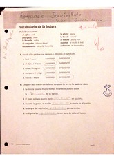romance sonambulo worksheet