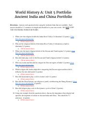 History India & World Pdf