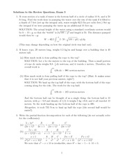 Exam 3 Review Solution