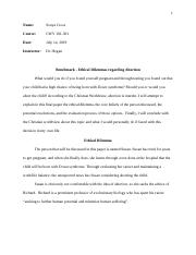 CWV-101-RS-T7 Ethical Dilemma Essay by Sonya Cross.docx