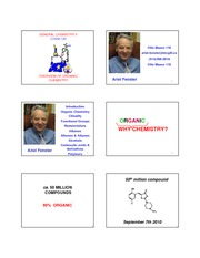 10.1 Organic Chemisry - Organic Compounds and Structures