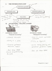 ACCTG 302 Chapter 1 Lecture Notes on Managerial Accounting
