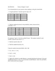 Ch 5 and 6 Practice Problems and Answers