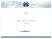 Lecture7_DIGITAL SIGNAL PROCESSING