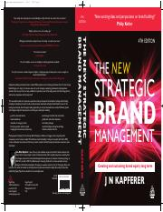kogan page - jean noel kapferer - the new strategic brand management 4th edition