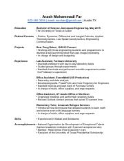 Resume (Revised)