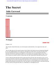 Garwood, Julie - The Secret.pdf