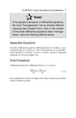 ordinary differential equations pdf notes