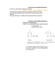 Enzymes and Isolated Reaction2
