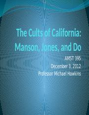 The Cults of California