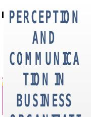 Perception and communication in business organization.pptx