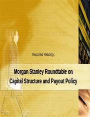 Roundtable-Payout Policy - students