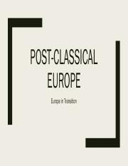 Lecture - Post-Classical Europe.pdf