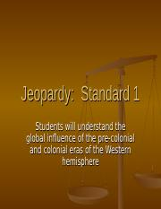 Jeopardy Standard 1
