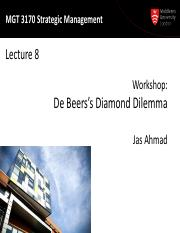 MGT3170 Lecture08-Case - DeBeerss Diamon Dilemma-2015.pdf