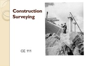 13 Construction Surveying