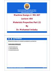 Lecture#04_Machine_Design_ME-307_Material_properties_Part-2