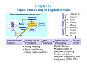 Chapter 12 - ADC and Digital Signal Processing (1)
