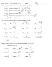 Review 4.3 Answers