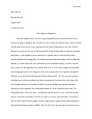 Great Expectations Puzzling Essay