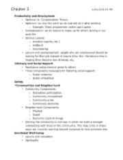 HPHE 1700 Chapter 3.2 Notes